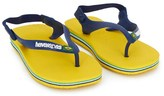 Havaianas Yellow Baby Brazil Sandals