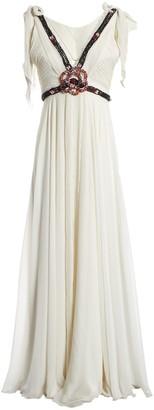 Jenny Packham White Polyester Dresses