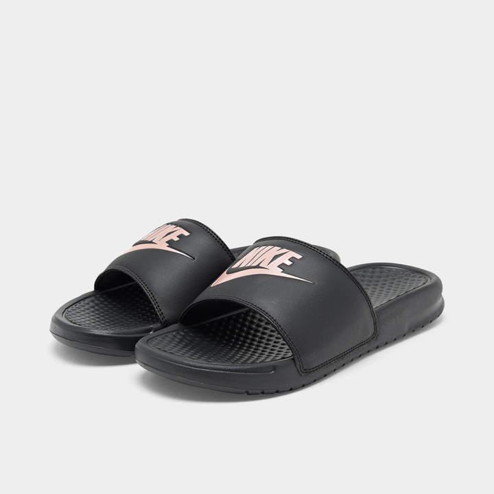 Slide Sandals Benassi Jdi Swoosh Women's 5LSAjc4R3q