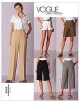 Vogue Patterns V2532 Misses'/Misses' Petite Shorts and Pants