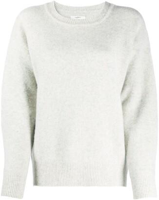 Etoile Isabel Marant Long-Sleeved Ribbed Knit Jumper