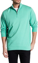 Peter Millar Regular Fit Heathered Quarter Zip Sweater