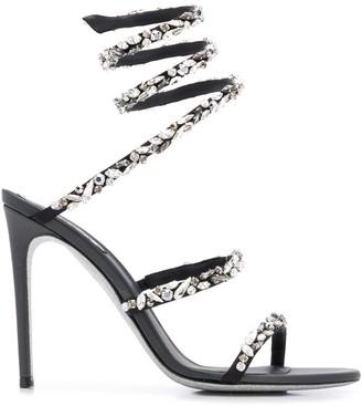 Rene Caovilla Cleo 105mm jewelled sandals