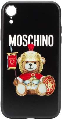 Moschino teddy bear iPhone XR case