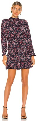 Rebecca Taylor Long Sleeve Madeline Dress