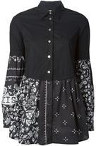 MM6 MAISON MARGIELA floral print shirt