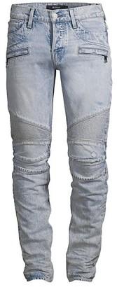Hudson Mid Rise Blinder Biker Jeans