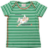 Vintage Green Stripe T-Shirt