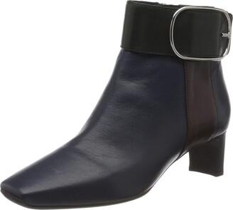 Geox Girl's D Vivyanne Mid C Ankle Boots