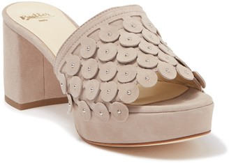 Butter Shoes Carina Heeled Slide Sandal