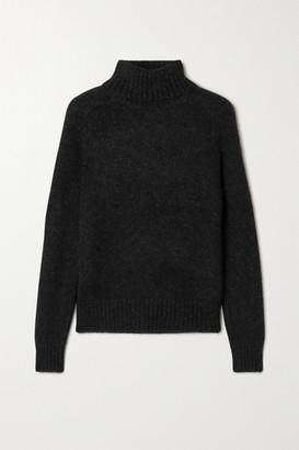 Nili Lotan Atwood Alpaca-blend Turtleneck Sweater - Black