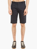 Maison Margiela Black Lightweight Cotton Shorts