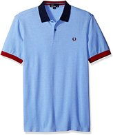 Fred Perry Men's Color Block Pique Shirt