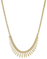 Bloomingdale's 14K Yellow Gold Cleopatra Chain Necklace, 17""