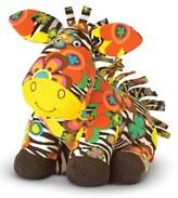 Melissa & Doug Toddler 'Beeposh - Zelda Zebra' Plush Toy