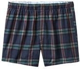 Banana Republic Exploded Plaid Flannel Boxer