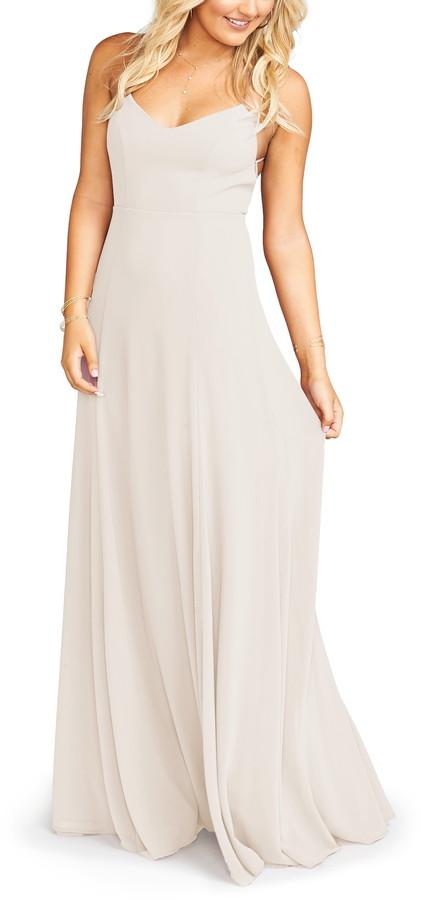 Show Me Your Mumu Godshaw Goddess Chiffon Gown