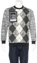 Givenchy Anaimal Satana Argyle Sweatshirt w/ Tags