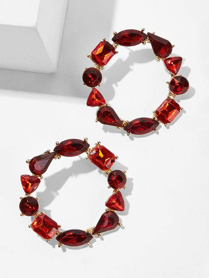 9fcbcaf714 Shein Red Earrings - ShopStyle