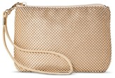 Tevolio Women's Beaded Mesh Clutch with Removable Wristlet Strap