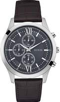 GUESS GUESS? Men's U0876G1 Leather Japanese Quartz Dress Watch