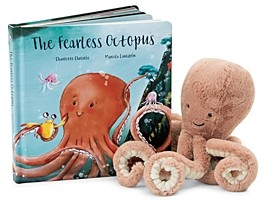 Jellycat The Fearless Octopus Book - Ages 0+