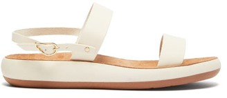 Ancient Greek Sandals Clio Comfort Leather Sandals - Womens - White