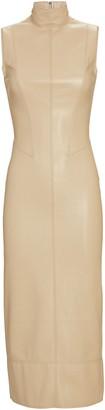 Alexis Farrah Sleeveless Vegan Leather Dress