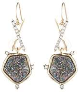 Alexis Bittar Druzy Crystal Drop Earrings