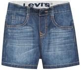 Levi's Mid Wash Pull Up Denim Short