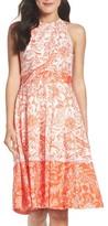 Eliza J Petite Women's Fit & Flare Dress