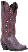 Dan Post Pink Studded Talisman Leather Cowboy Boot - Women
