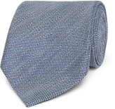 Tom Ford - 8cm Slub Linen And Silk-blend Tie