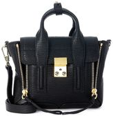 3.1 Phillip Lim Pashli Black Leather Mini Satchel