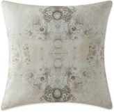 Tracy Porter Gigi Quilt Printed Square Throw Pillow in Neutral