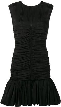MSGM Draped Effect Dress