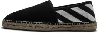 Off-White Canvas Espadrillas Shoes - Size 10
