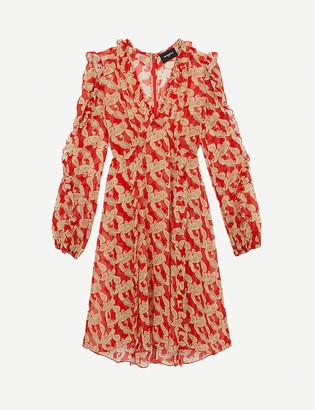 The Kooples Paisley-print woven mini dress