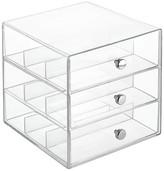 InterDesign Desktop Storage Unit - Clear