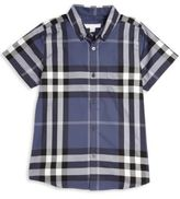 Burberry Little Boy's & Boy's Fred Checkered Shirt