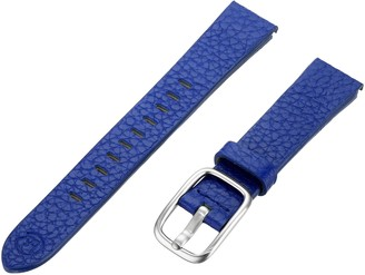Hadley Roma b&nd by Hadley-Roma with MODE Blue 16mm Genuine Leather Watch Band