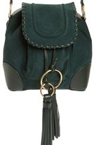See by Chloe Small Polly Leather Bucket Bag - Green
