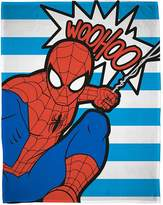 Marvel Ultimate Spiderman Abstract Fleece Blanket