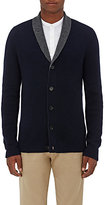 Barneys New York MEN'S DOUBLE-FACED CASHMERE CARDIGAN