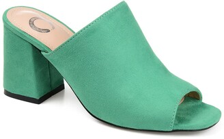 Journee Collection Adelaide Slide Mule Sandal