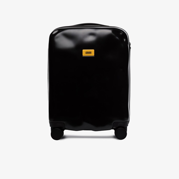 CRASH BAGGAGE black Icon rolling cabin suitcase