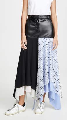 Walk of Shame Patchwork Skirt