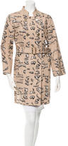 Marc by Marc Jacobs Printed Double-Breasted Jacket w/ Tags