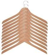 Honey-Can-Do Wood Shirt/Dress Hangers - Pack of 5