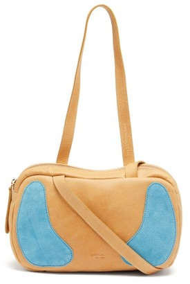 Gabriel For Sach - Decerio Xs Leather And Suede Shoulder Bag - Beige Multi